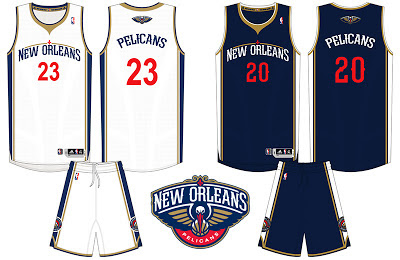 New Orleans Pelicans Unveils New Official Uniforms