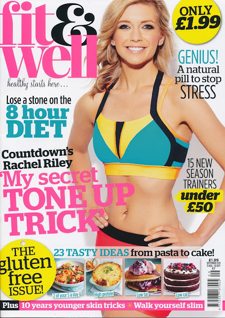 Television presenter, Moderator @ Rachel Riley - Fit and Well, September 2015