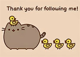 Thank you for following my blog!