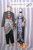 Baju Perkahwinan Hitam sedondon