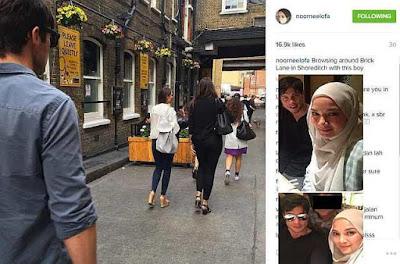 Siapakah Jejaka Yang Teman Neelofa Di Kota London?