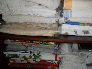 Tablecloth organisation.