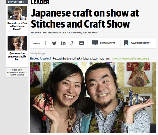 http://www.heraldsun.com.au/leader/central/japanese-craft-on-show-at-stitches-and-craft-show/story-fngnvlpt-1227082469666?nk=0dc298ff7fd2453ac62247330e3b9e69