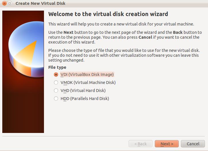how to create a virtualbox