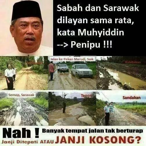Ini Bukti Sabah Dan Sarawak Dilayan Sama Rata Seperti Kata Muhyidin Yassin