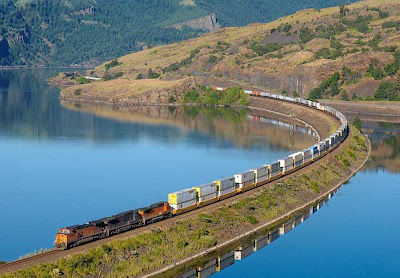 Superb train route photos