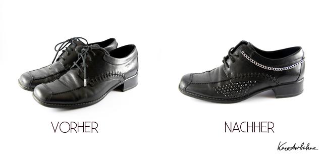 DIY Schuhe aufgepeppt