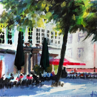 The Goethe Allee by Liza Hirst