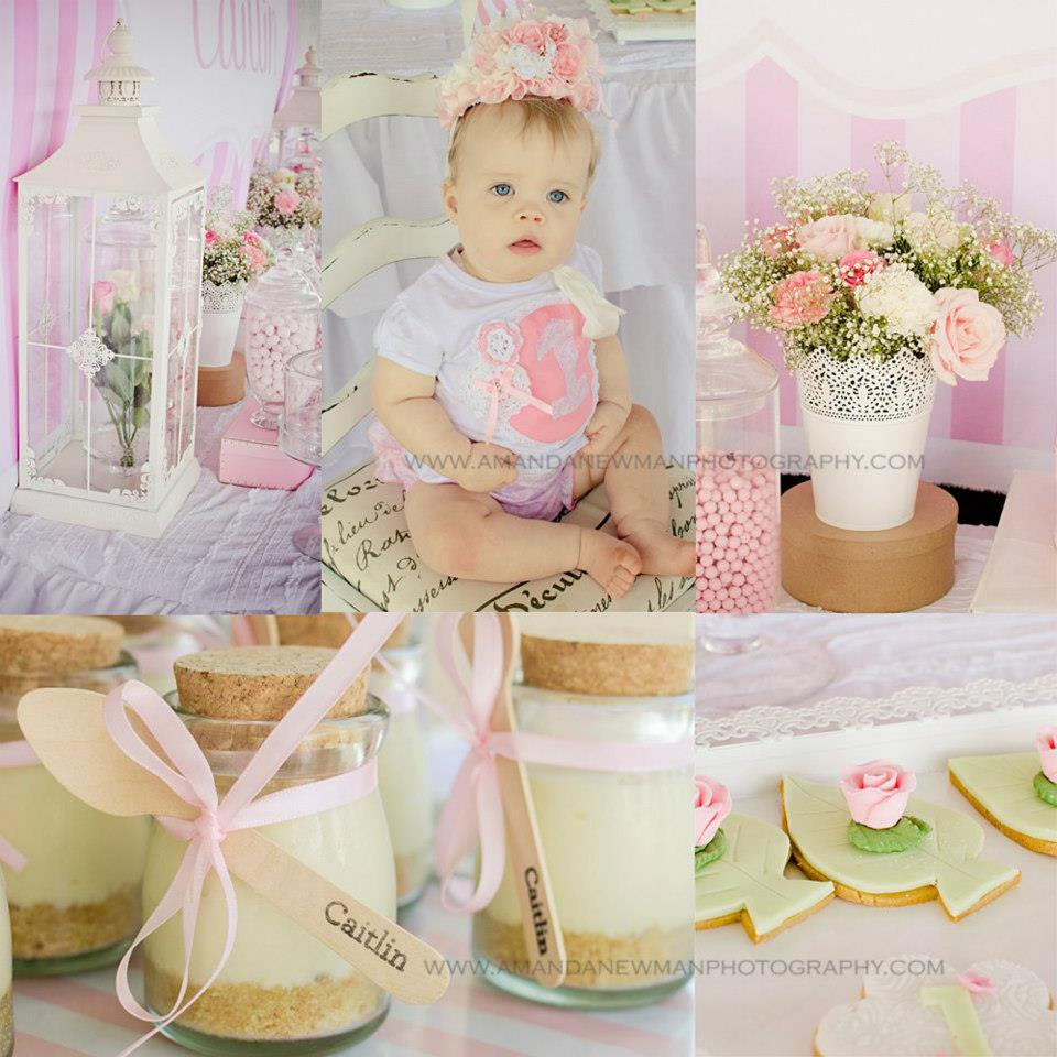The Blog: Beautiful Pink 1st Birthday