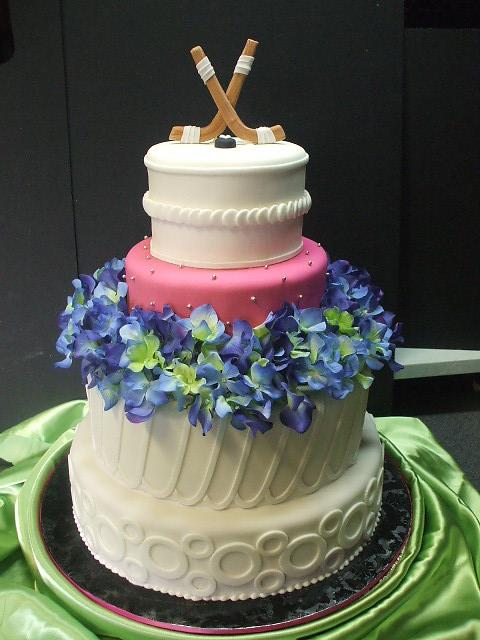 That\'s a Cake?: Hockey Wedding