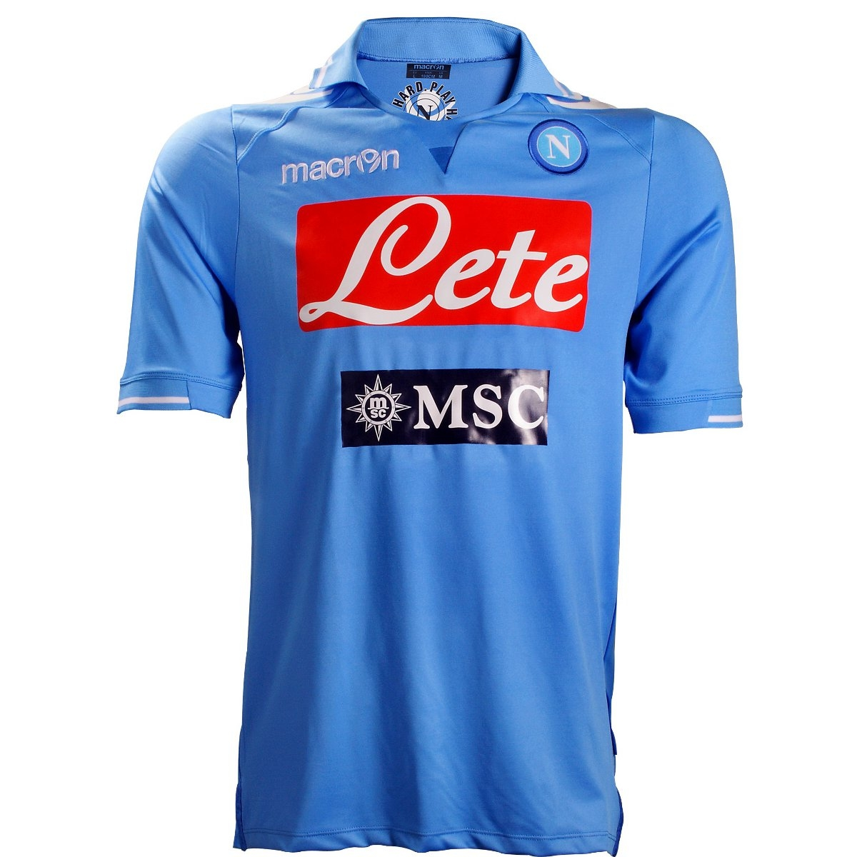 Equipaci  N   Uniforme   Camiseta N  Poles Napoli Azul 2011 2012
