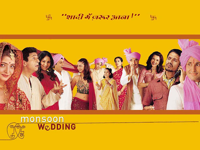 I don't know what the deal is with that wedding planner guy in Monsoon Wedding who likes to eat flowers. He's the guy with his ear glued to his cell phone. If flowers help fight off the radiation your brain's absorbed from heavy cell phone use, well, munch away on them FTD bouquets, man.