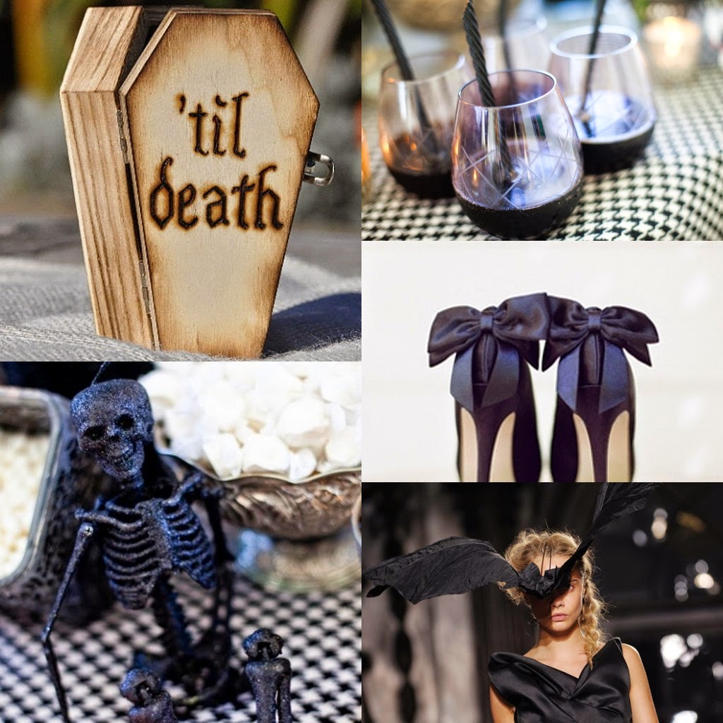 Elegant Halloween Themed Weddings: Amazing Ideas On How To Have A Spooky-yet-Elegant
