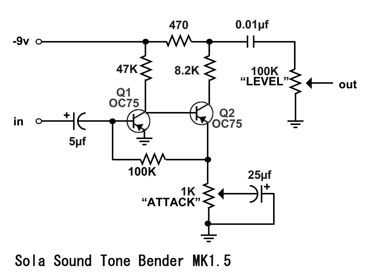 Sold All Fuzz Going Back To A Tonebender Circuit Suggestions Pedal Schematic Img