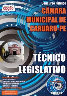 Apostila Concurso Câmara de Caruaru PE 2015 - Técnico Legislativo