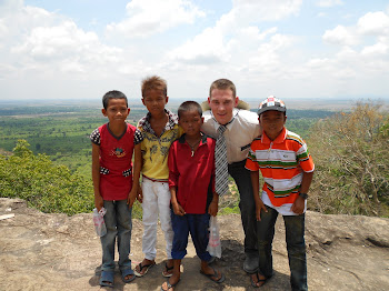 Me and some of the kids at the mountain