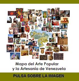 Mapa del Arte Popular y la Artesanía de Venezuela