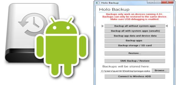 Cara Full Backup di Android Tanpa Root