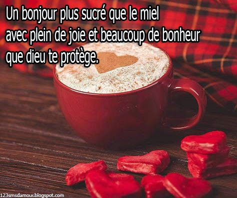 Sms d'amour le matin