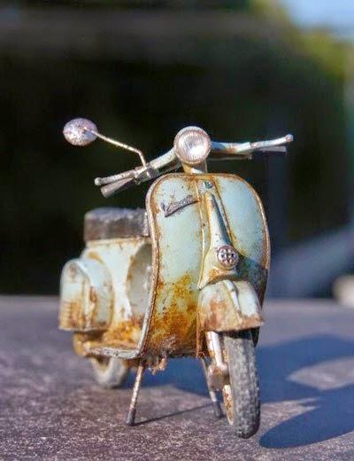 mo hinh xe vespa