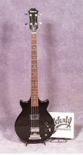 THE UNIQUE GUITAR BLOG: The Epiphone Genesis Guitars and Bass