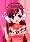 Новогодний наряд - Онлайн игра для девочек