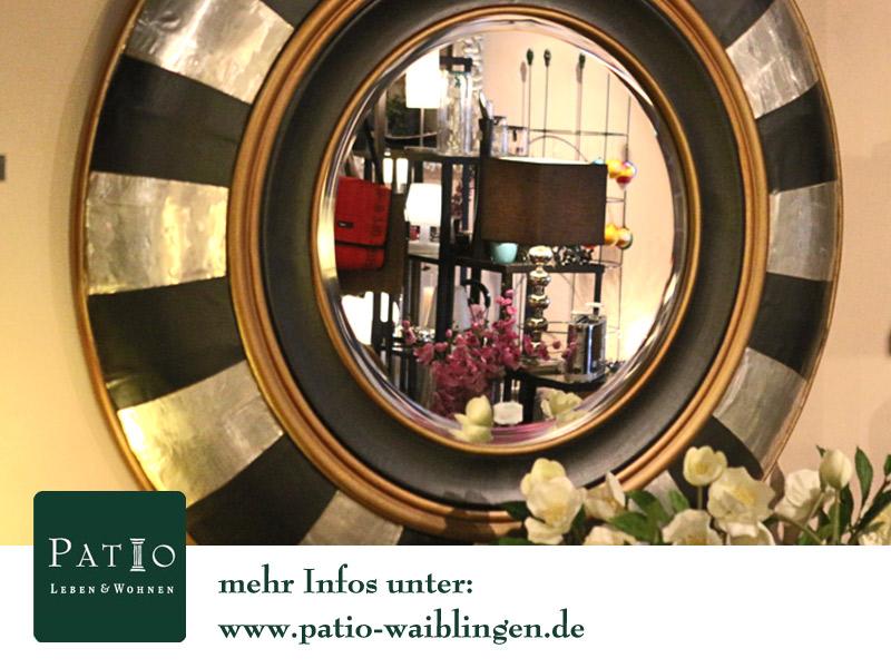 patio leben und wohnen einrichtungen nach ma lambert spiegel. Black Bedroom Furniture Sets. Home Design Ideas
