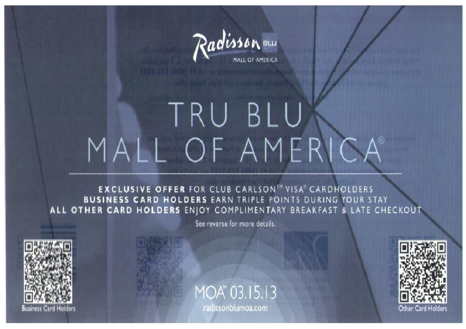 Radisson Blu Mall of America Offer