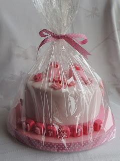 tarta fondant regalo nacimiento bebé