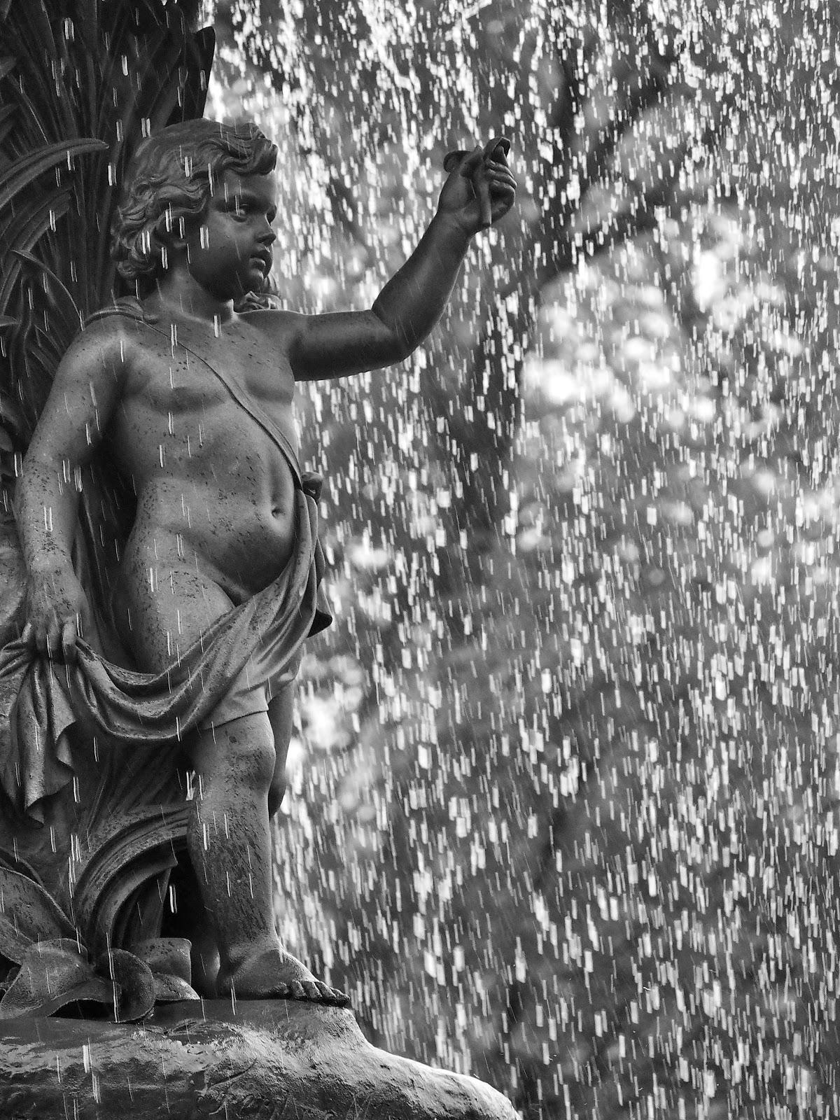 Bethesda Cherub, #bethesdacherub #centralpark #bethesdafountain #fountain 2014