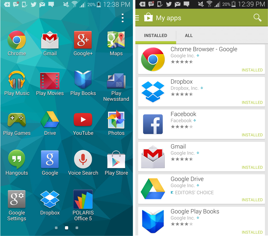 samsung galaxy how to install play store