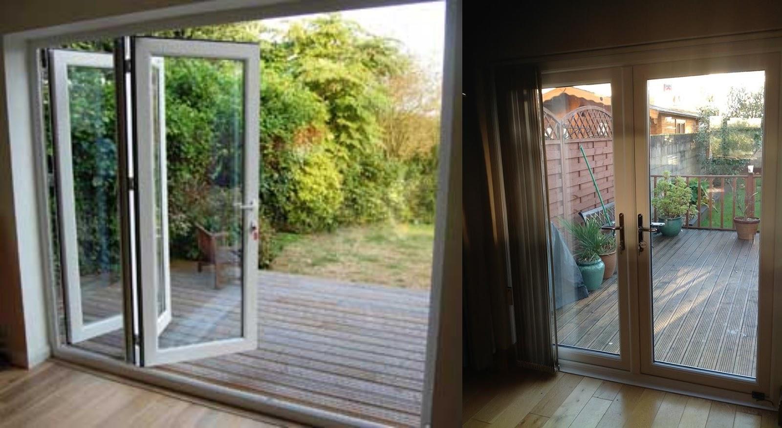 Harvest bi fold doors vs french doors for Folding french doors