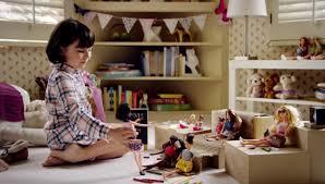 Comercial da Barbie