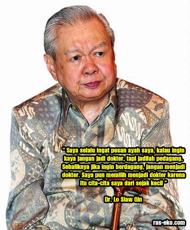 Dr. Lo Siaw Ging dokter panutan dokter Indonesia