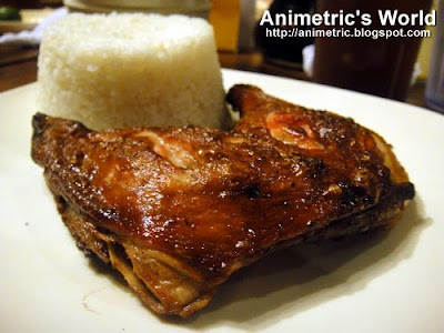 Pa-a Meal at Inasal Republic
