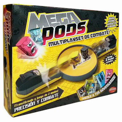 JUGUETES - Megapods - Multiplayset de combate Producto Oficial 2015 | Bizak 35000110 A partir de 5 años | Comprar en Amazon