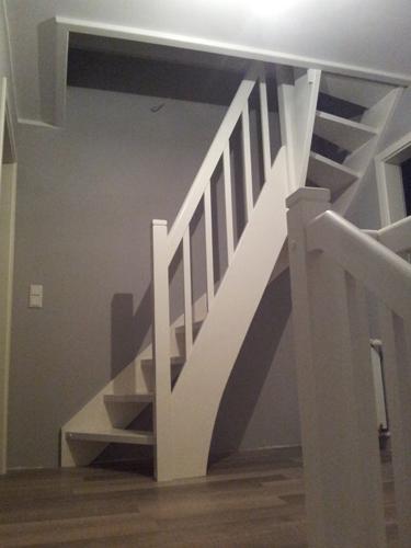 Treppe für spitzboden