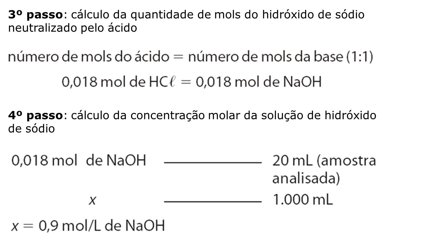 Uma solucao aquosa 2 0 molar de acido cloridrico apresenta