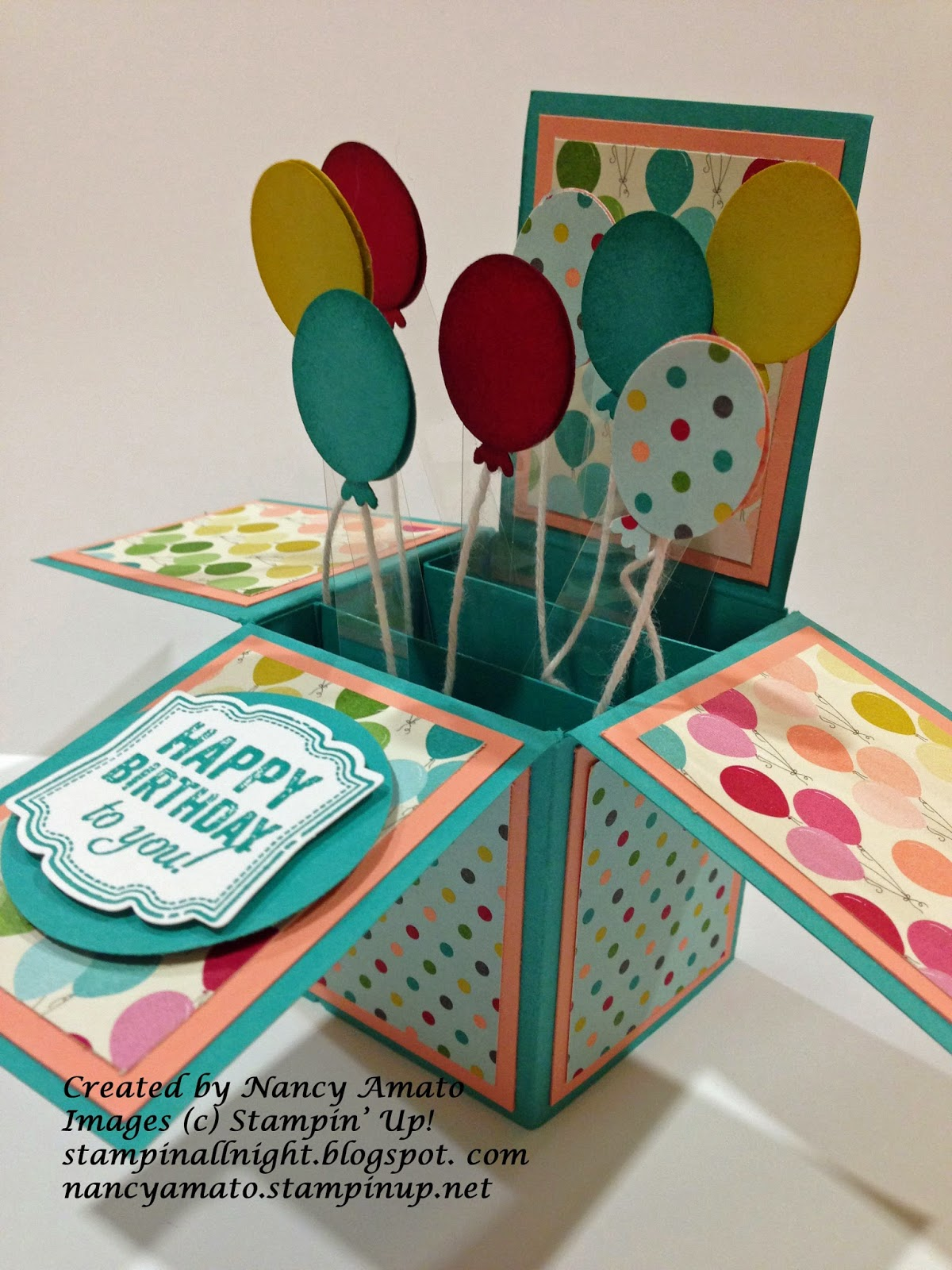 Stampin All Night Cards In A Box – Birthday Cards in a Box