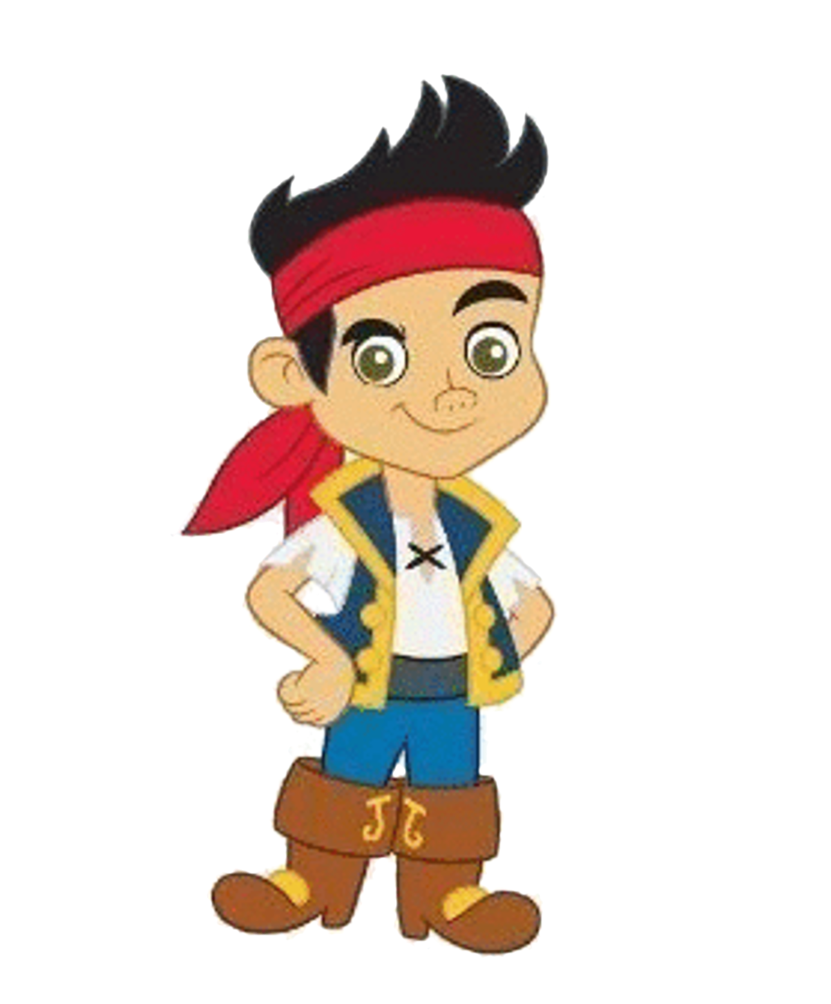 Jake and the neverland pirates characters clipart