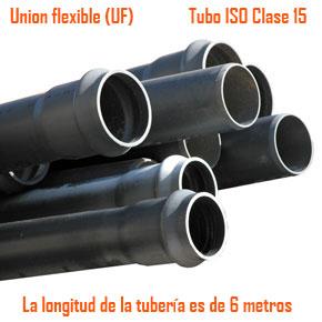 Tubos ISO clase 15 - Unión Flexible
