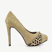 Pantofi dama Luminita khaki ( )