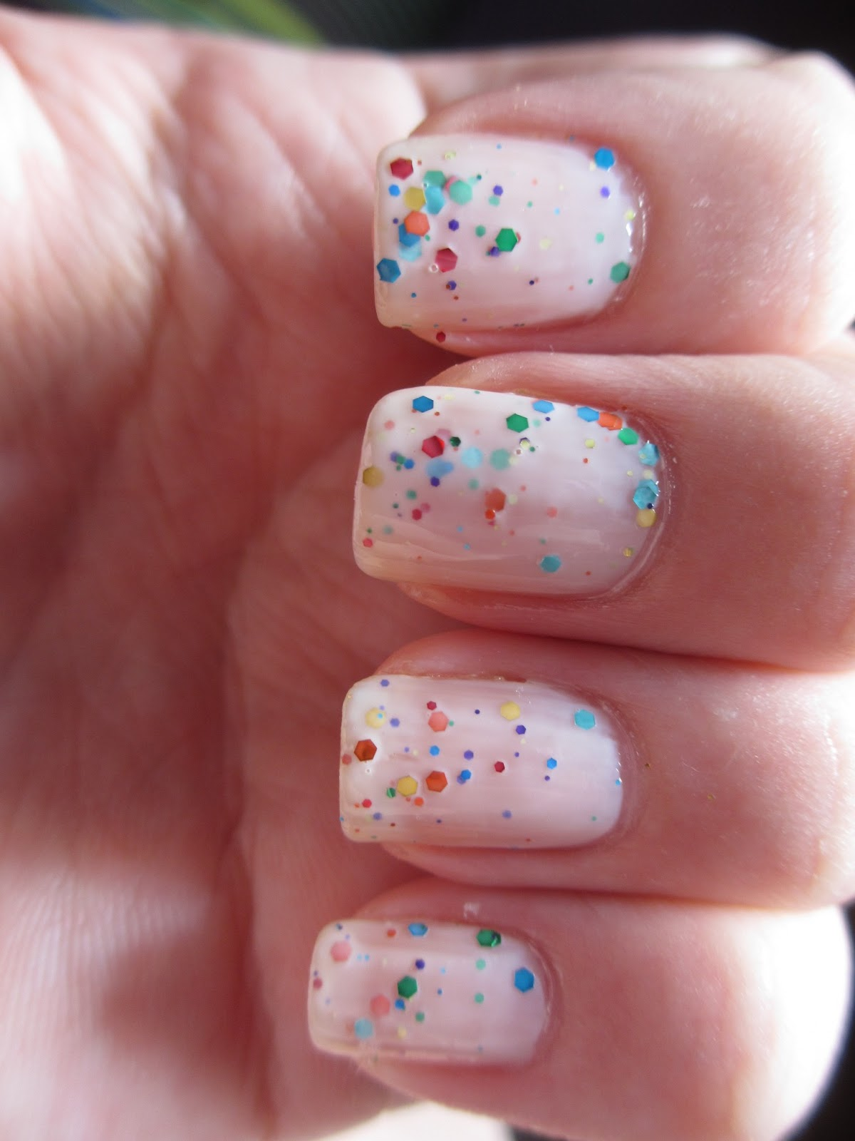 lovely me:ex yogurt nails