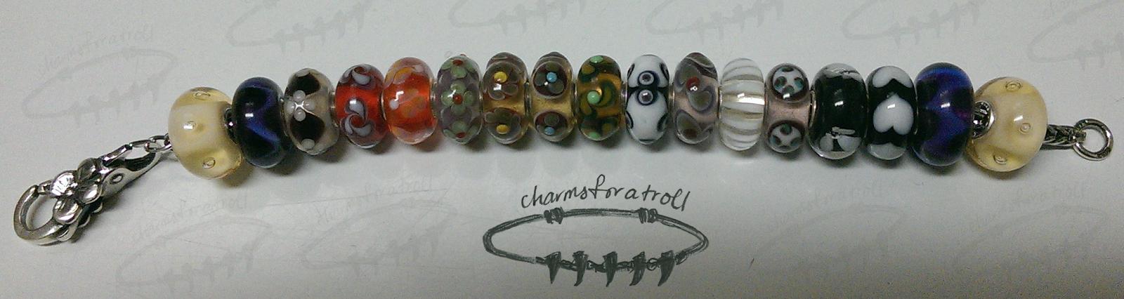Trollbeads Silver Bracelet with Flower Lock