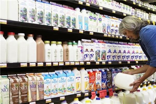 Arabic conversation in the market to buy milk.
