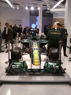 LED lighting exhibition LuxLive Formula One car