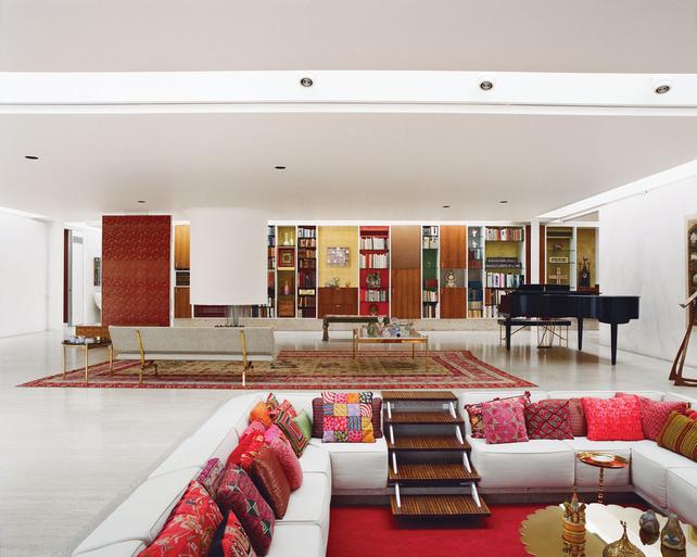 The North Elevation Classic Spaces Eero Saarinen