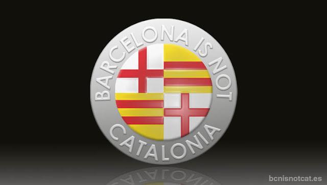 Logo de Barcelona is not Catalonia o Plataforma por la Autonomía de Barcelona