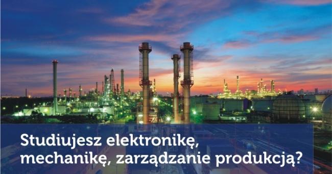 Fragment plakatu reklamującego konkurs Automatyka i Przemysł