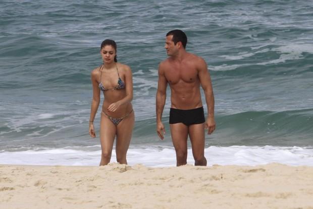 Sophie Charlote e Malvino Salvador mostraram os corpos em ótima forma